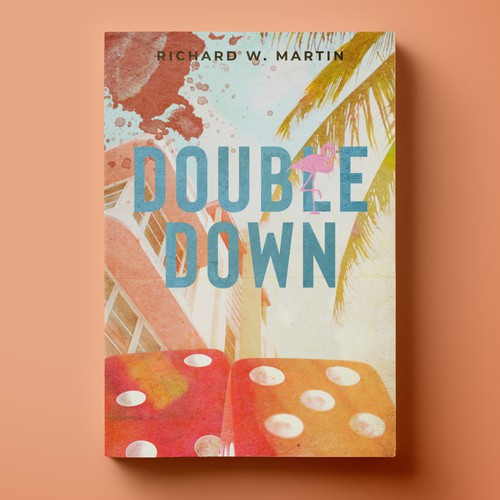"""Cover for Mystery Novel """"Double Down"""""""
