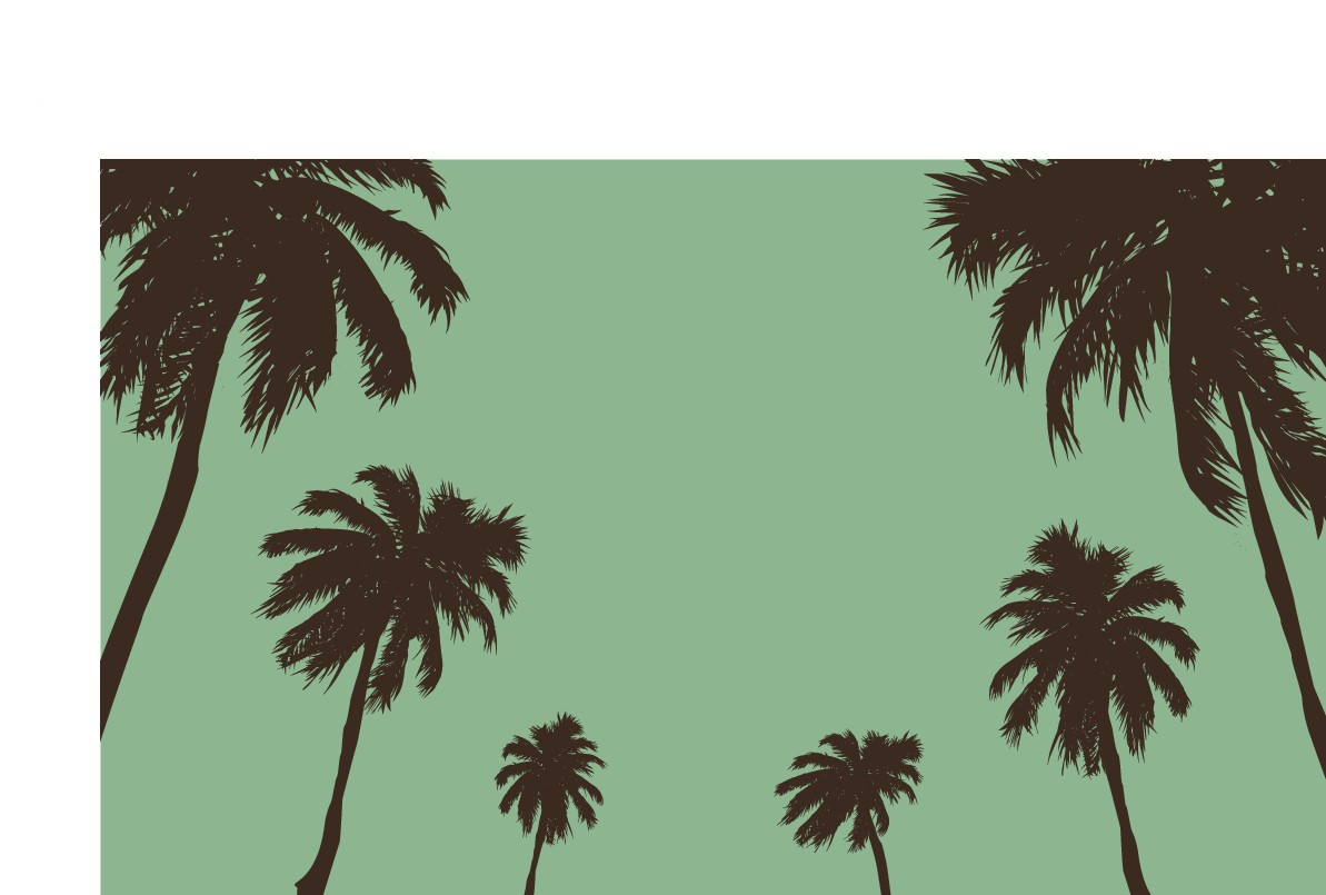 On trend camping mat design - PALMS