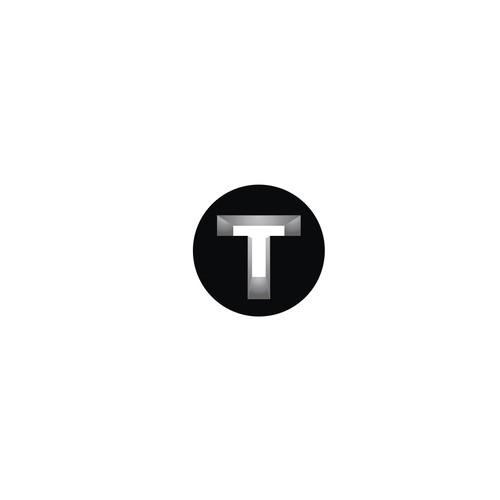 T logo 3D