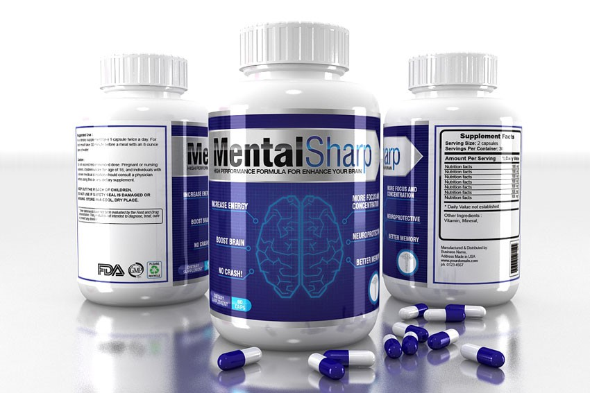 New product label wanted for Mental Sharp