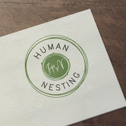 logo for human nesting