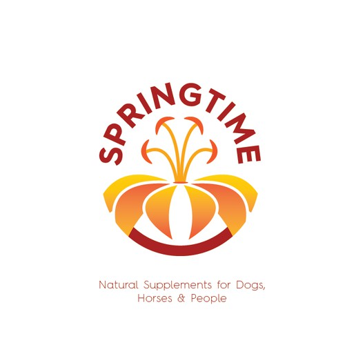 logo design for springtime