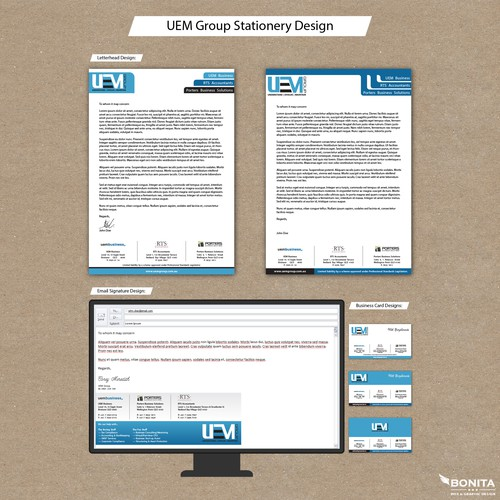 Stationery for UEM Group