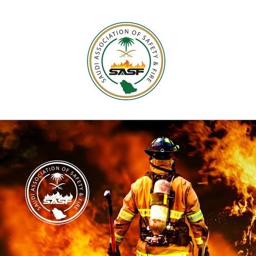 Saudi association of safety logo