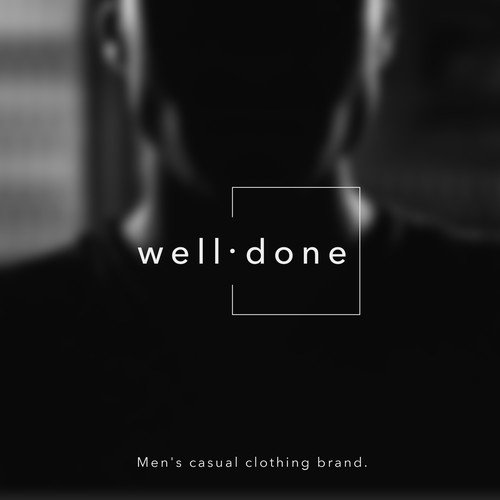 Logo design for men's casual clothing brand