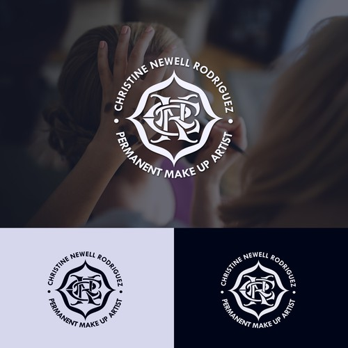 Monogram concept logo entry for cosmetic business