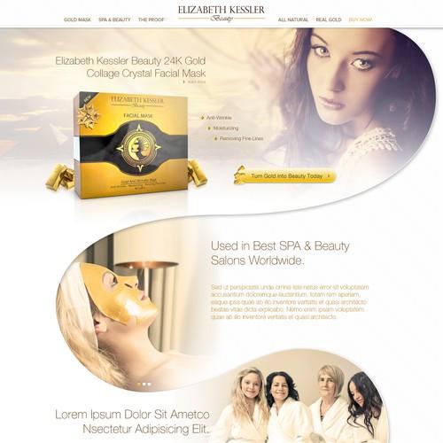Elizabeth Kessler Beauty 24K Gold Facial Mask