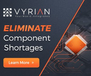 Design the next banner ad set for Vyrian, Inc.
