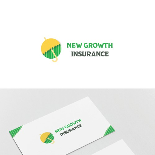 Create a suggestive but not literal logo for a Cannabis Insurance company