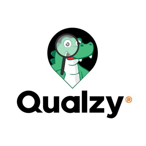 Qualzy Mascot Design