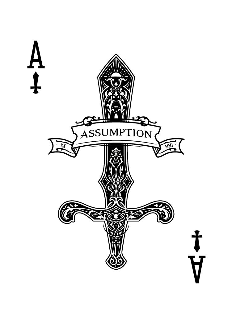 Ace of Swords design