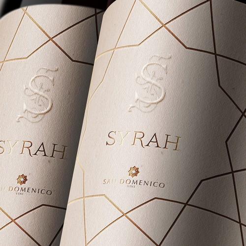 Etichette per vini San Domenico
