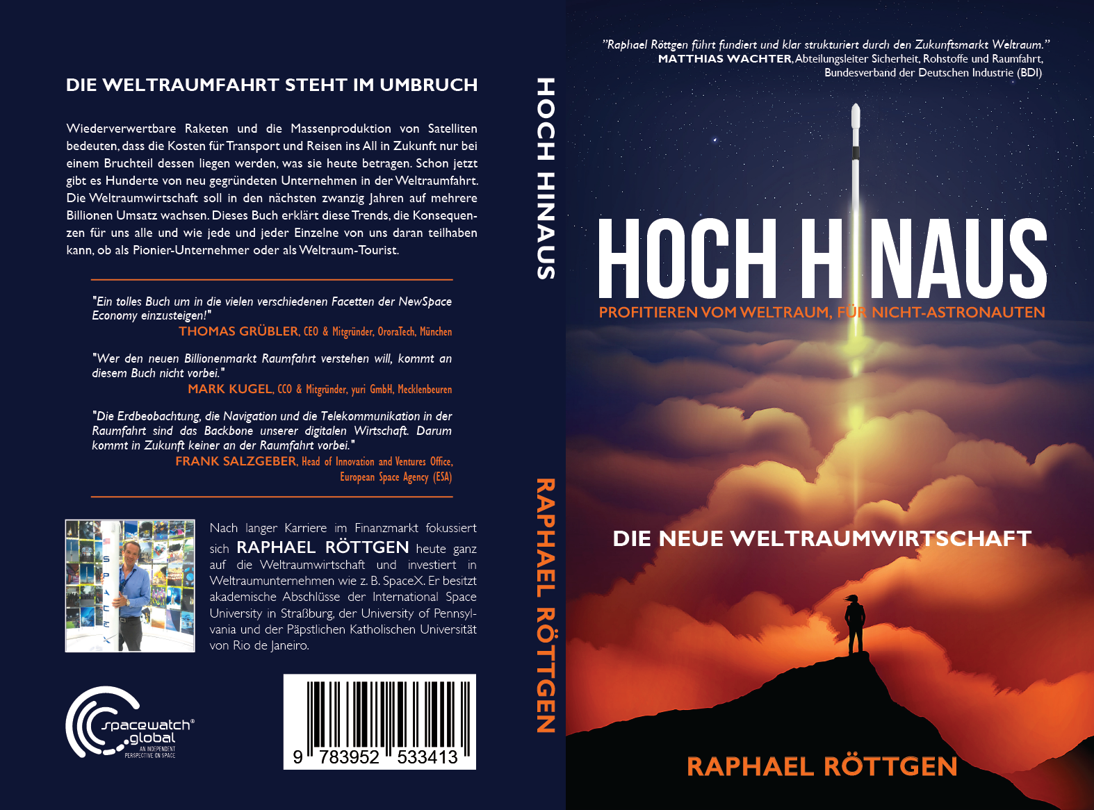 COVER DESIGN FOR SPACE BUSINESS BOOK (RAPID TURNAROUND)