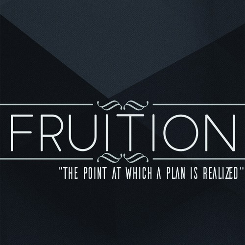 Invitation card for Fruition.