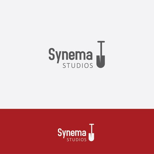 Konceptual logo for film company