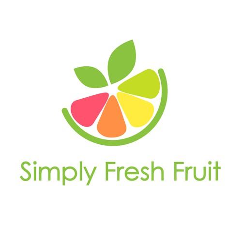 Simply Fries Fruit wining logo
