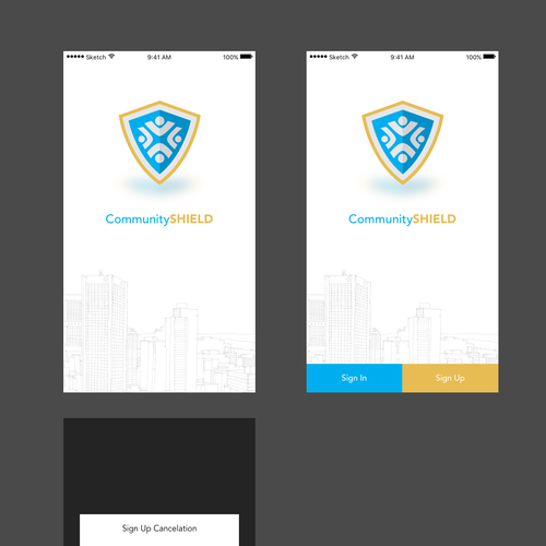 CommunityShield - App Design Ideas