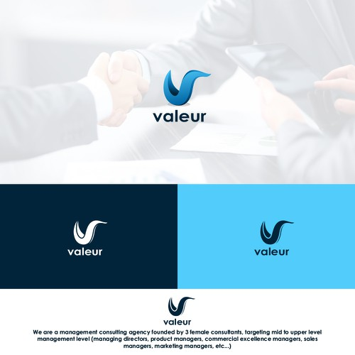"""Professional branding package for a management consulting """"Valeur"""""""