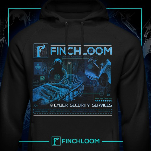 Finchloom Cyber Security / Hacker Hoodie