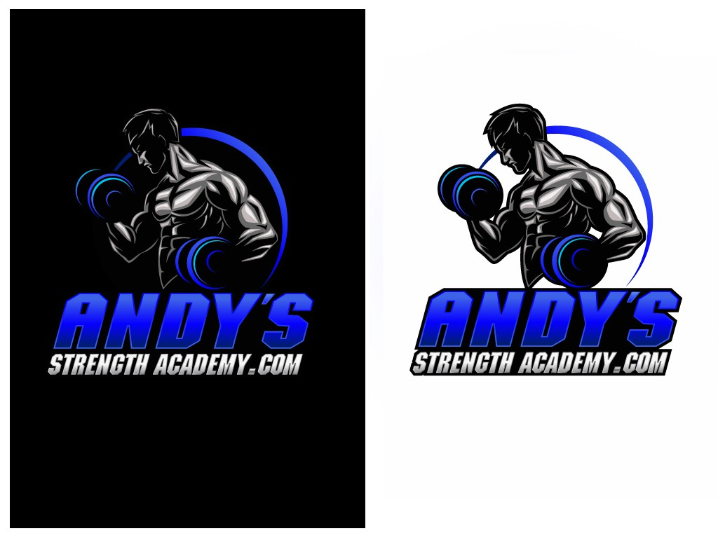 New logo wanted for Andy's Strength Academy website! It'll be a REVOLUTION!