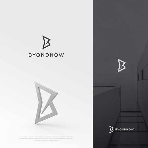 B-logo. lettering