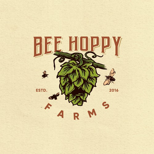 logo for BEE HOPPY