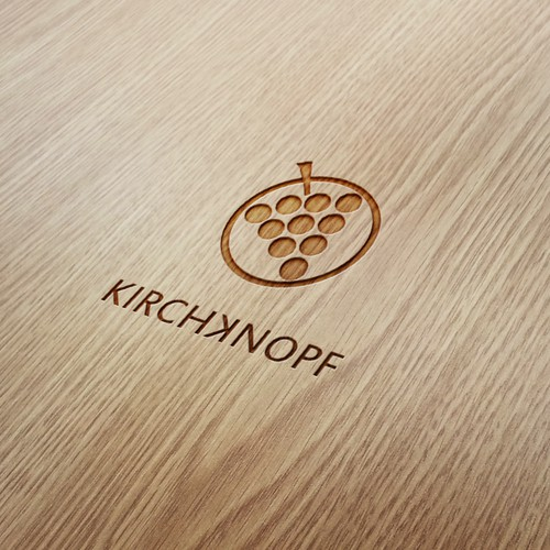 Create a logo for a young and modern winery