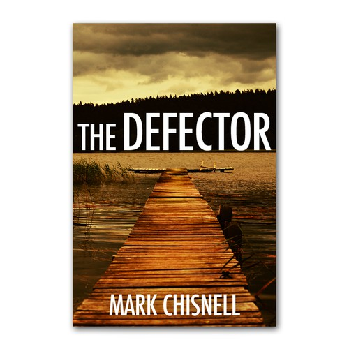 Create a new eBook cover for a well-reviewed thriller