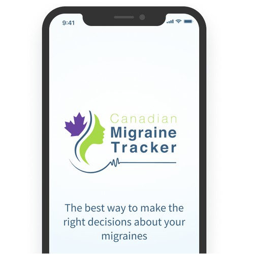 App Design for the Migraine Tracker/Diary
