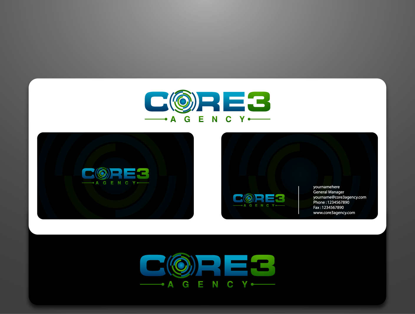 "Logo for ""Core3 Agency"""