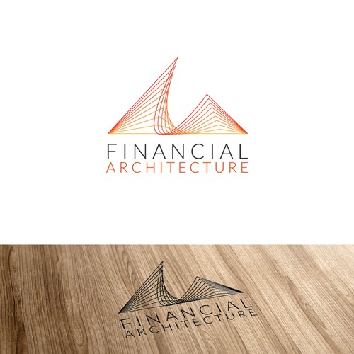 Logo for financial service