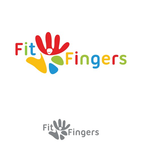 Logo design for Fit Fingers