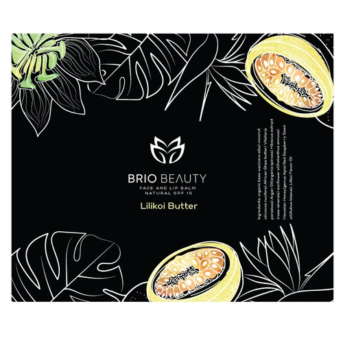 Label Design for Lip Balm