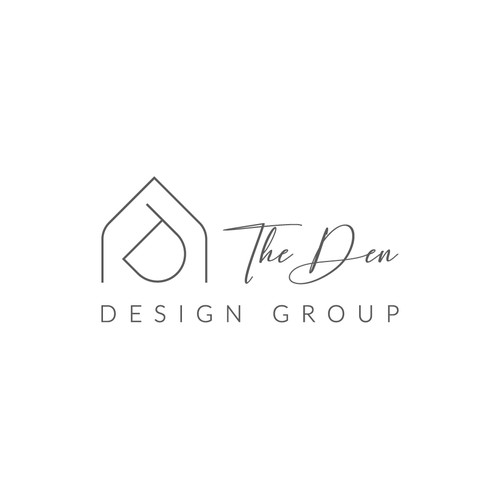 Sophisticated and Artsy but not Stuffy Logo for High End Interior Design Firm