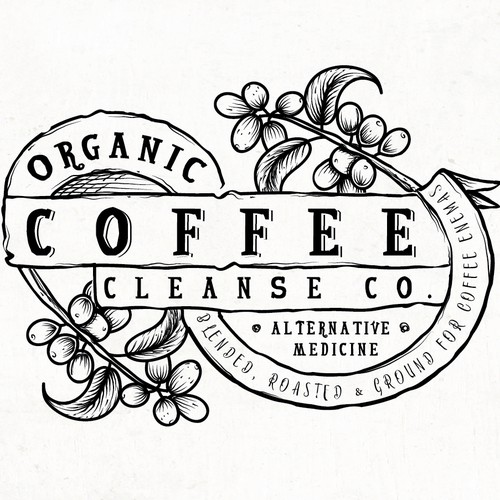 LOGO CONCEPT ORGANIC COFFEE CLEANSE