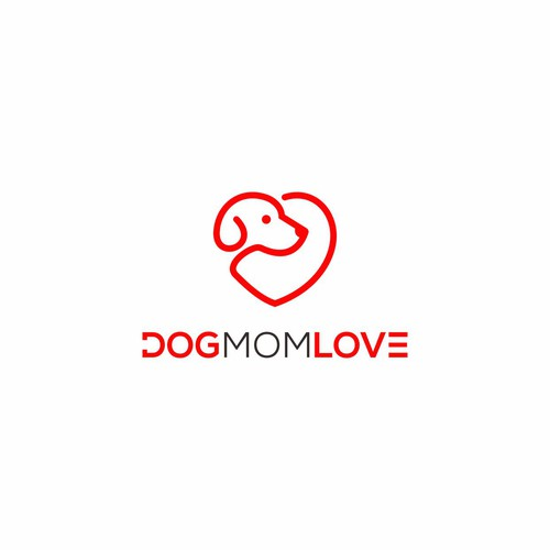 The love the dogmom has for her dog!