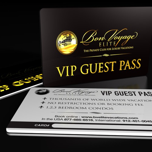 *Prize Guaranteed* Help BonVoyage Elite  Create VIP Travel Card