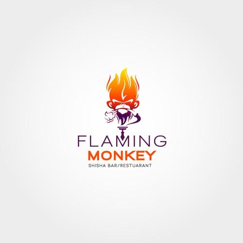 Flaming Monkey Logo