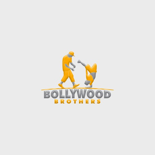 """Design a logo for 2 young dancing kids """"Bollywood Brothers"""""""