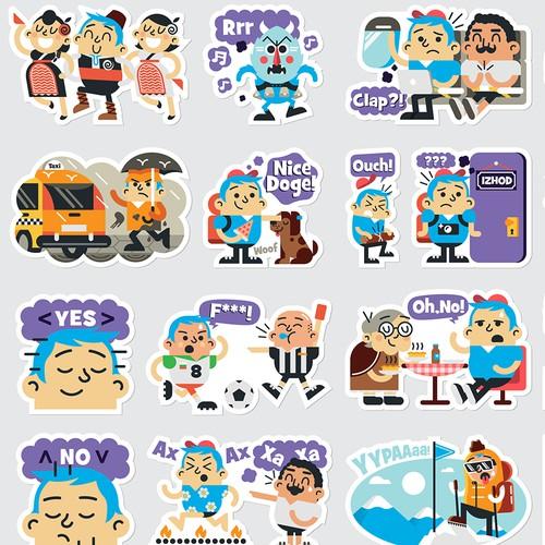 Telenor Viber Stickers