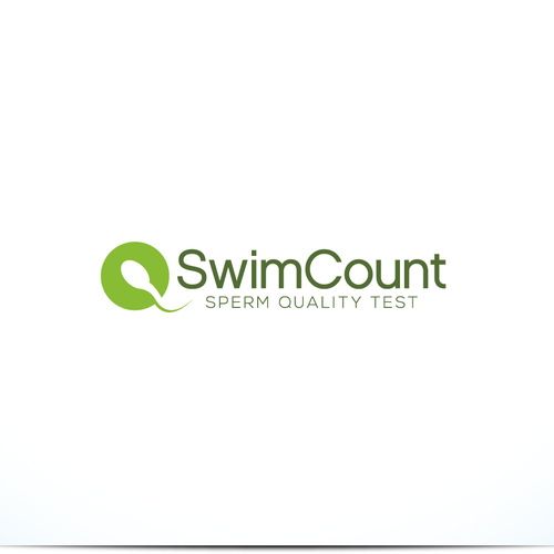 strong logo concept for swimcourt.
