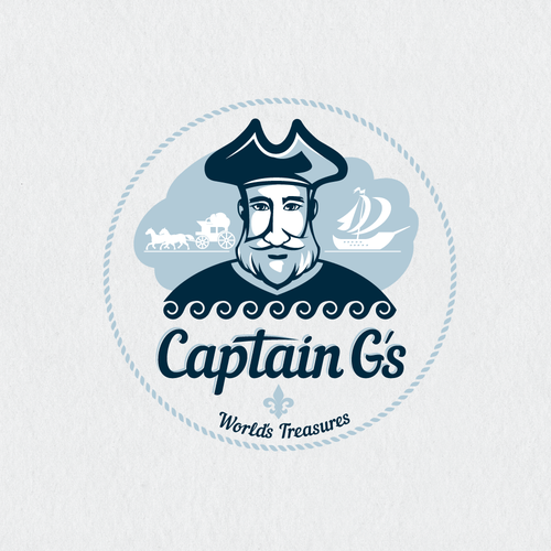 Captain G's, a premium food import/export company, needs your help to design it's logo!!