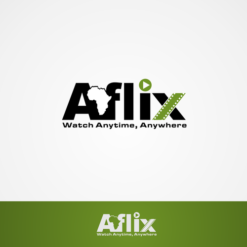 Winning Logo for Aflix