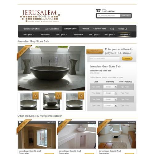 UK Stone Supplier Website needs a new website design