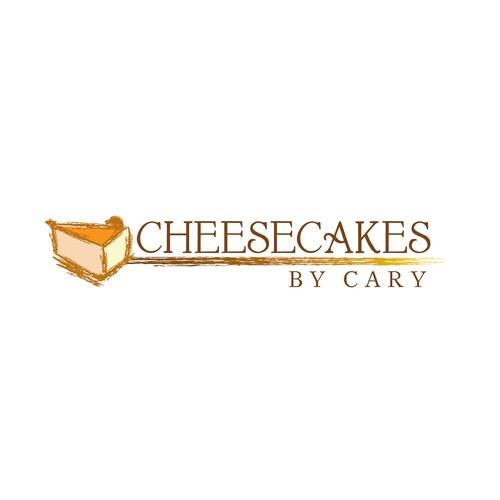Cheesecake Logo Rustico