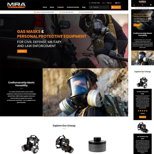 MIRA Safety Landing Page