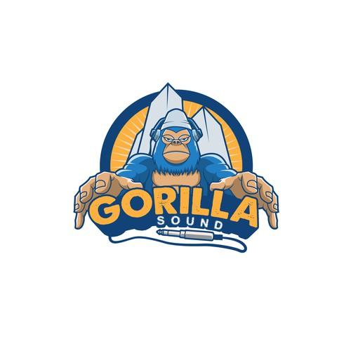Gorilla sound proposal logo