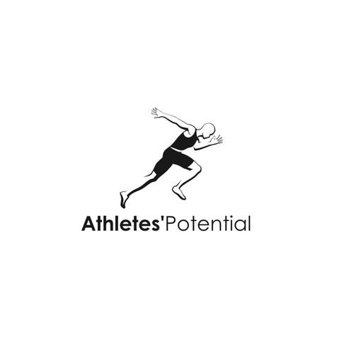 Athletes'Potential logo design