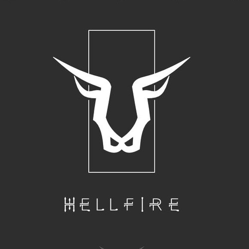 Animalistic, foreboding icon for exclusive restaurant and bar