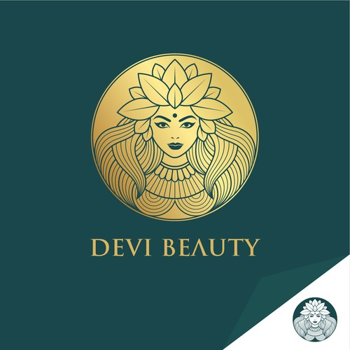 Bold Beautiful logo, for a Face Oil product.